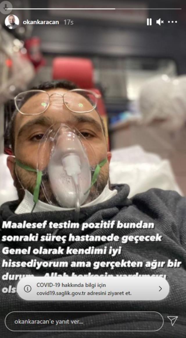 Koronavirüse nedeniyle hastaneye kaldırılan oyuncu Okan Karacan'dan duygusal paylaşım - Sayfa 3