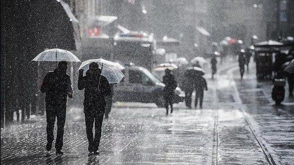 Meteoroloji'den 36 kent için sarı ve turuncu alarm! Sağanak, kar ve fırtına... - Sayfa 3