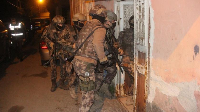 550 polisle dev operasyon! Komiser ve polisler de gözaltında...