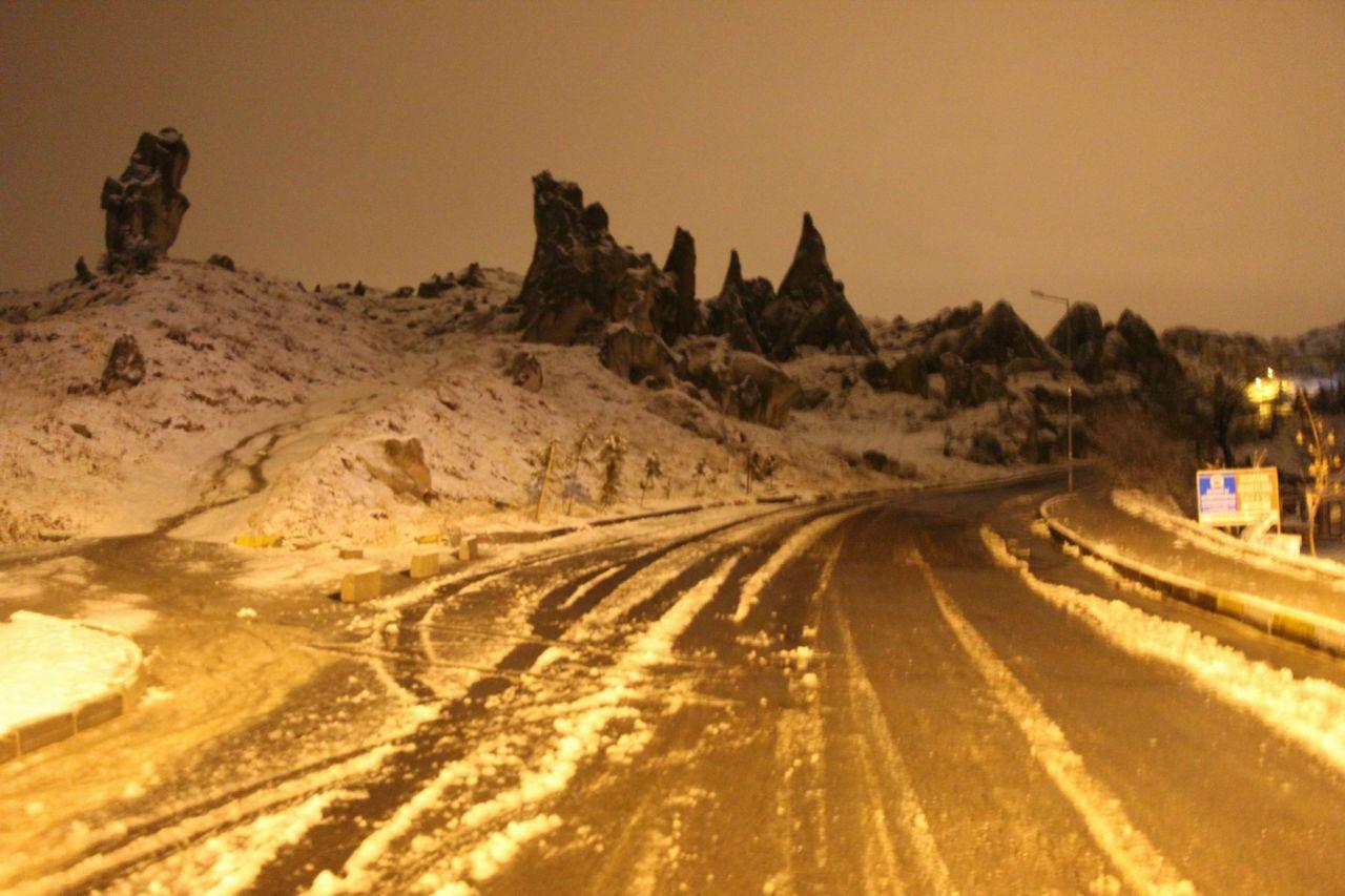 Kapadokya beyaza büründü! Kapadokya'da kartpostallık kar manzaraları! işte büyüleyen görüntüler! - Sayfa 3