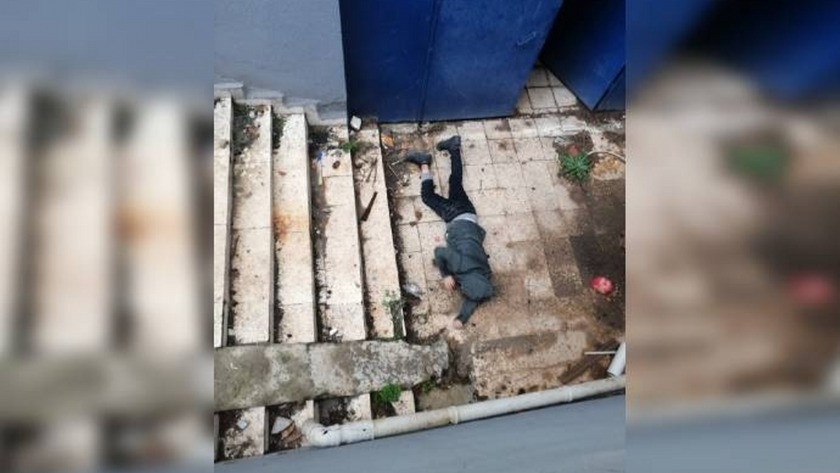 Polis merkezinde tuvalet penceresinden kaçmaya kalktı