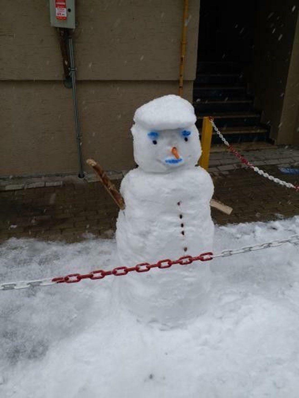 Kardan adam yapımında sınır tanımayan fikirler şaşkına çevirdi! - Sayfa 3
