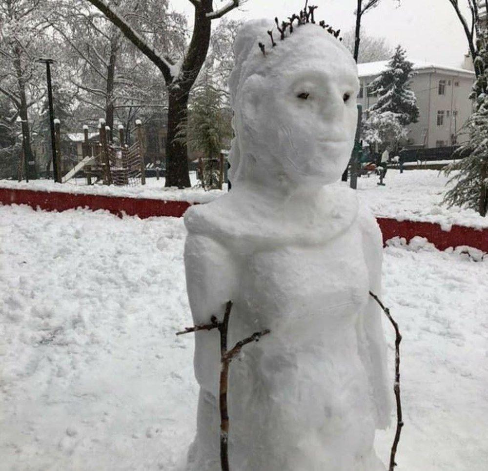 Kardan adam yapımında sınır tanımayan fikirler şaşkına çevirdi! - Sayfa 4