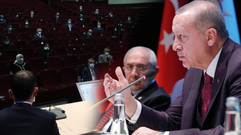 AK Parti MKYK'da Cumhurbaşkanı Erdoğan'ı kızdıran teklif!