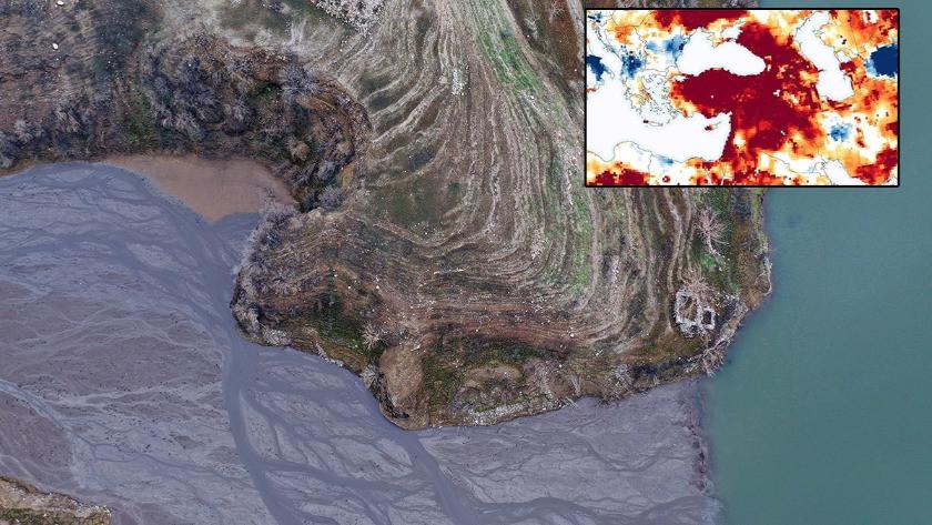 NASA'dan Türkiye'ye kuraklık uyarısı! Harita yayınladı