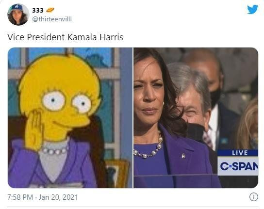 20 yıl önceden bildiler! ABD'deki Biden ve Harris'in yemin törenine Simpsonlar damga vurdu! - Sayfa 1