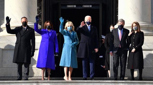 ABD siyasetine damga vuran kadınlar yemin törenindeki kıyafetleriyle ne mesajı verdi? - Sayfa 1