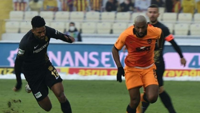 Malatyaspor - Galatasaray maç sonucu: 0-1 özet izle