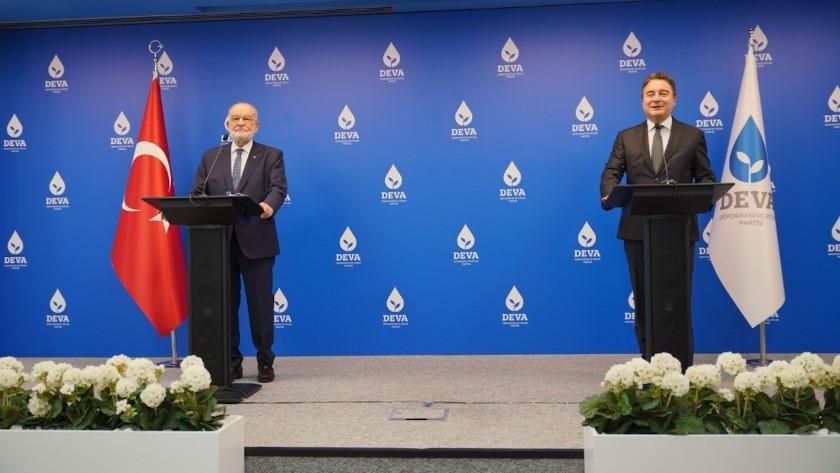 Temel Karamollaoğlu ve Ali Babacan'dan ortak açıklama