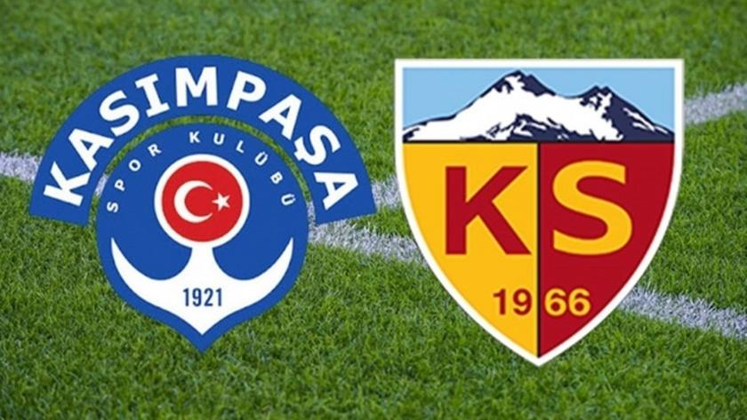 Kasımpaşa 0-1 Kayserispor