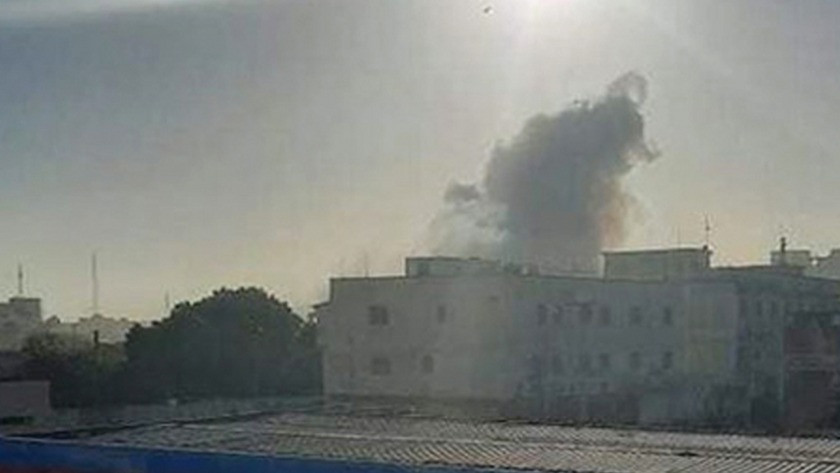 Somali'nin başkentinde patlama