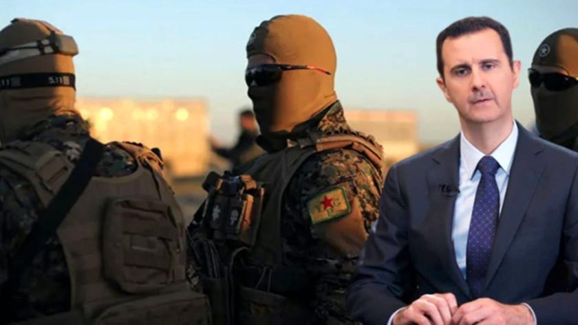 Suriye'de terör örgütü YPG ile Esed anlaştı