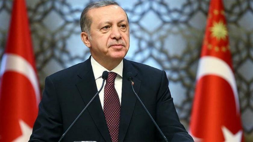 Cumhurbaşkanı Erdoğan Beştepe'de konuştu
