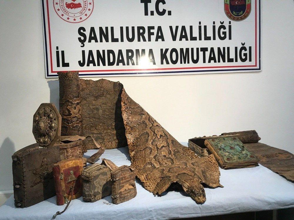 Şanlıurfa'da 4 metrelik piton derisi ele geçirildi - Sayfa 4
