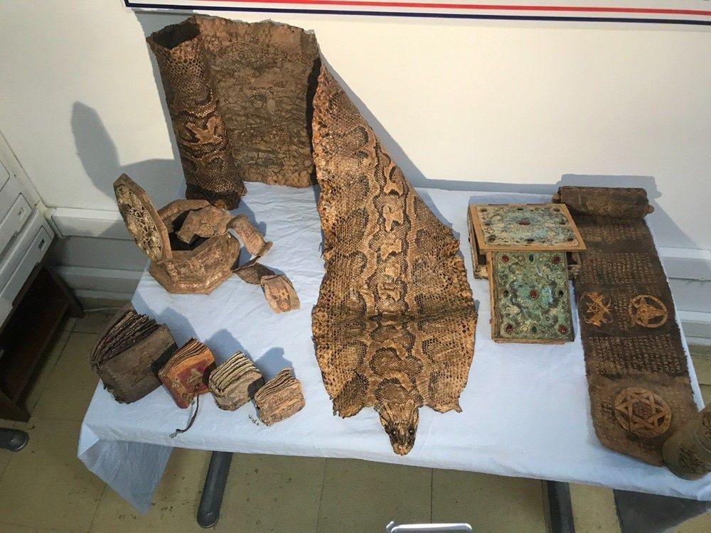 Şanlıurfa'da 4 metrelik piton derisi ele geçirildi - Sayfa 2