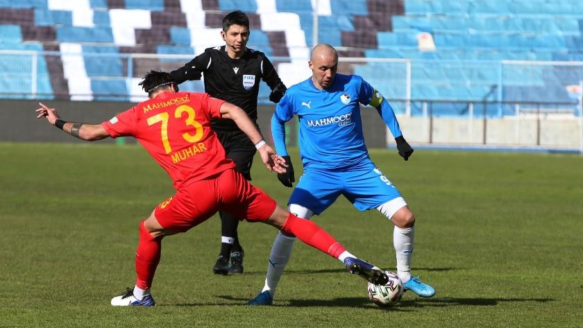Erzurumspor - Kayserispor maç sonucu: 1-1 özet ve golleri izle