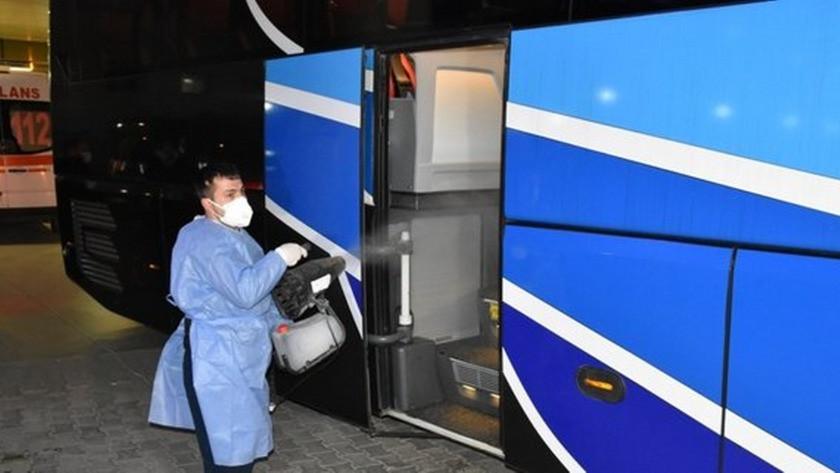 Yolcu otobüsünde iki kişinin koronavirüs testi pozitif çıktı!
