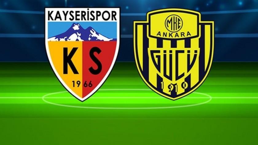 Kayserispor 0-0 Ankaragücü