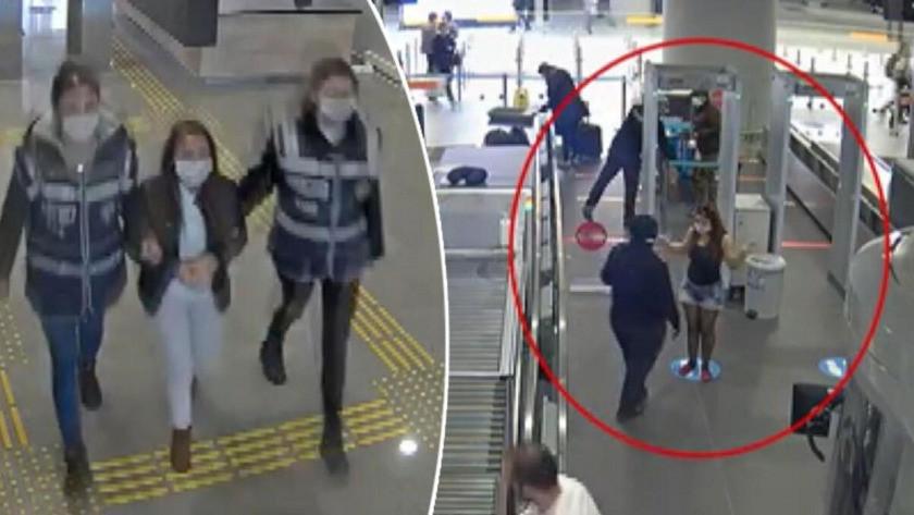 PKK terör örgütü üyesi olan kadın kaçarken yakalandı
