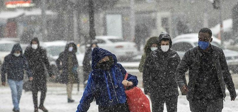 Sıcaklıklar düşüyor! Meteoroloji il il uyardı...  Yoğun kar yağışı uyarısı | 16 Şubat 2021 - Sayfa 1