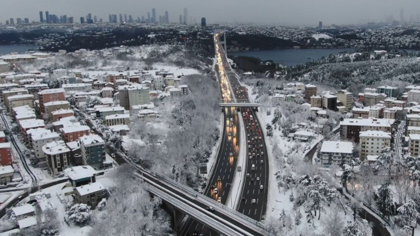 AKOM'dan İstanbul'da kar yağışına ilişkin önemli açıklama