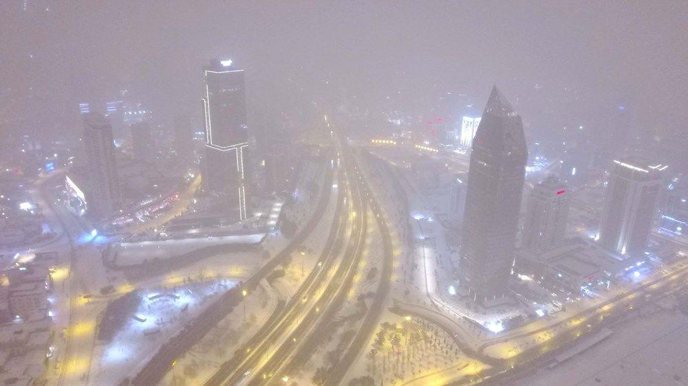 İstanbullular dikkat! Kar yağışı yeniden etkisini artırdı - Sayfa 1