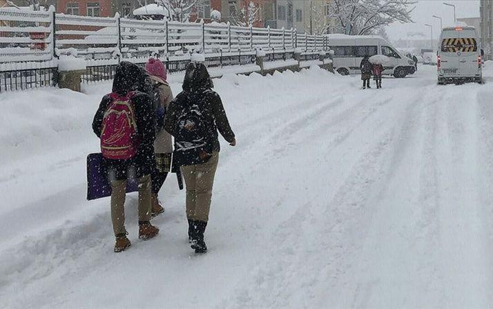 Yoğun kar yağışı yüz yüze eğitimi aksatıyor! Hangi illerde okullar tatil oldu? - Sayfa 1