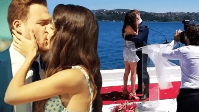 Hande Erçel ve Kerem Bürsin aşk mı yaşıyor? - Sayfa 1