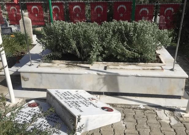 Adana'da 15 Temmuz şehidi ikiz polislerin mezarlarına saldırı - Sayfa 3