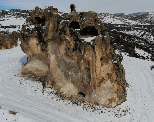 3 bin yıllık geçmişe sahip 5 katlı Avdalaz Kalesi - Sayfa 1