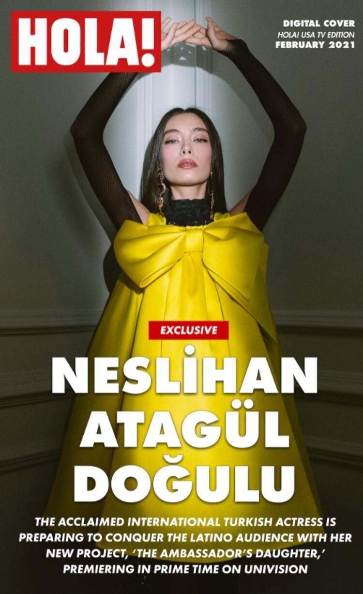 Şöhreti ülke sınırlarını aştı! Neslihan Atagül Amerikan dergisine kapak olan ilk Türk oyuncu oldu - Sayfa 4
