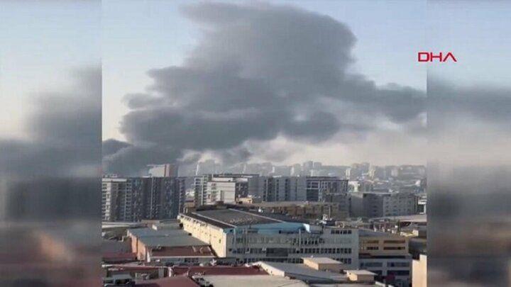 İstanbul Halkalı'da bir iş yerinde yangın çıktı - Sayfa 1