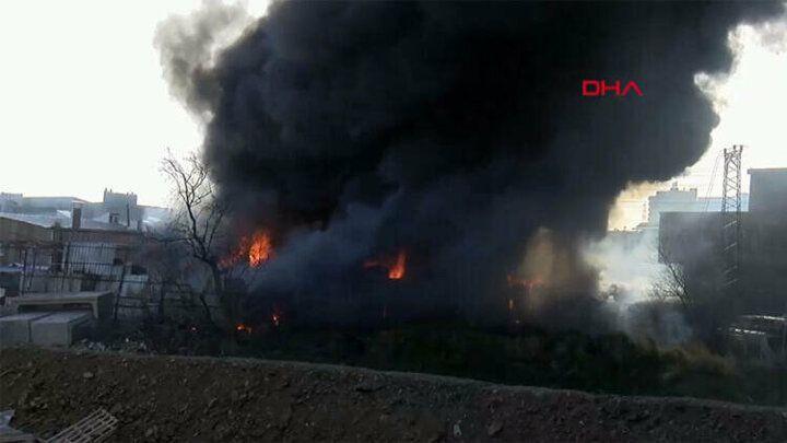 İstanbul Halkalı'da bir iş yerinde yangın çıktı - Sayfa 4