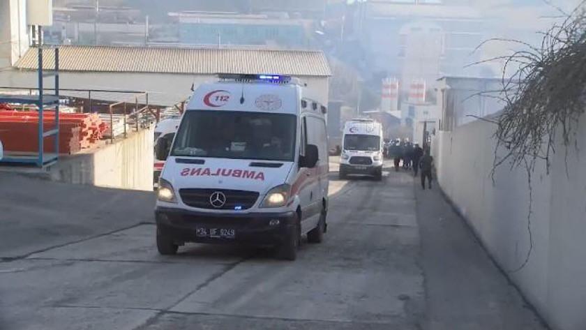 Arnavutköy'de şiddetli patlama!