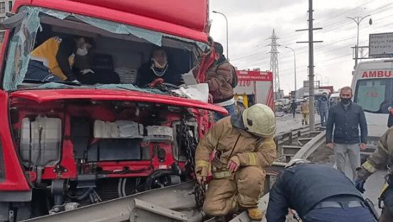 TEM Otoyolu'nda feci kaza ! 4 kişi yaralandı - Sayfa 2