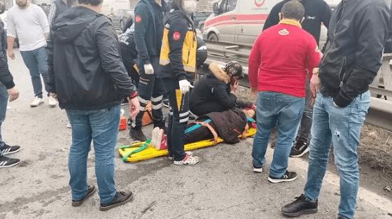 TEM Otoyolu'nda feci kaza ! 4 kişi yaralandı - Sayfa 3