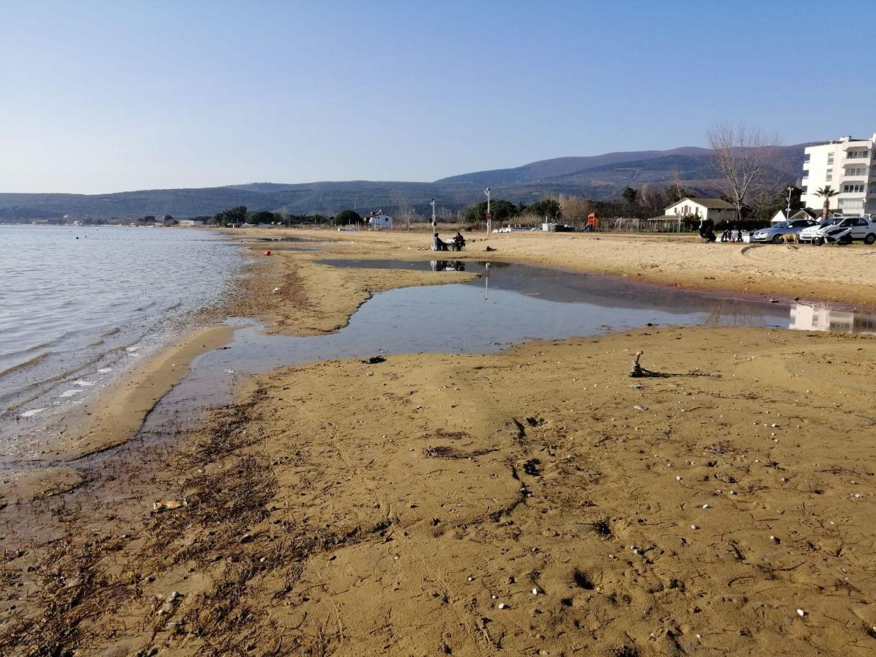 Balıkesir'in Erdek İlçesi'ndeki Düzler sahilinde korkutan görüntü! video izle - Sayfa 4