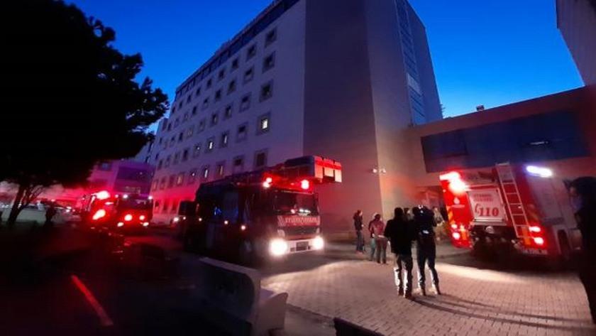 İstanbul Üsküdar'da hastanede yangın çıktı !