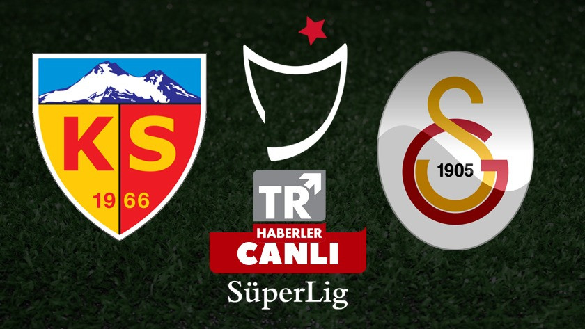 Kayserispor - Galatasaray maç sonucu: 0-3 özet ve golleri izle