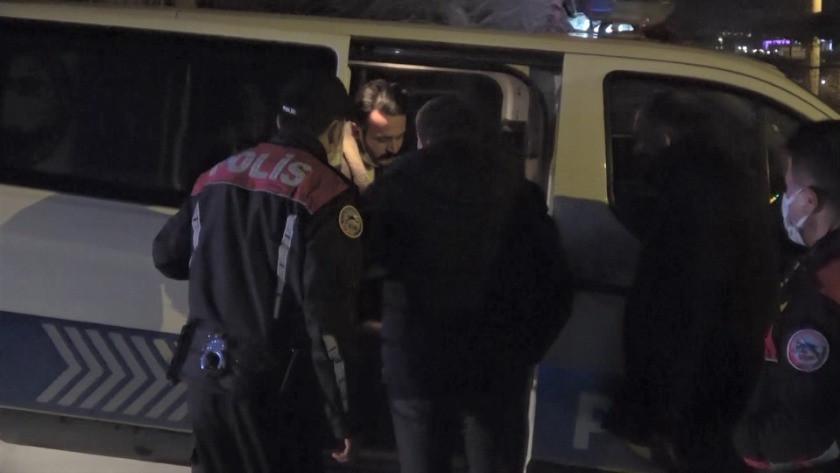 Kaçan alkollü sürücü yakalanınca  polis ekiplerinden helallik istedi!