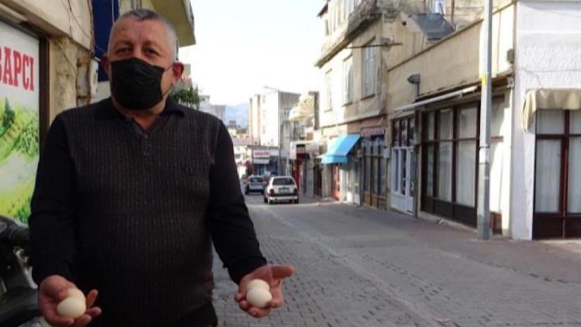 Adana'da 15 gündür havadan yumurta yağıyor