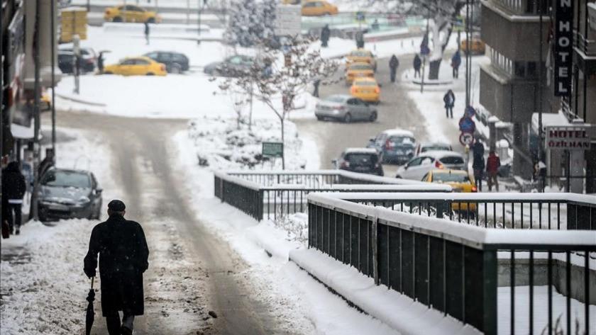 Ankara Valiliği kar yağışı için uyardı !