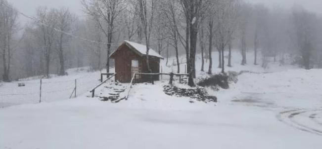 Kocaeli Kartepe'de kar kalınlığı 50 santimetreye ulaştı - Sayfa 1