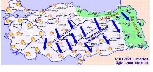 Meteoroloji Genel Müdürlüğü'nden kar ve fırtına uyarısı! - Sayfa 2