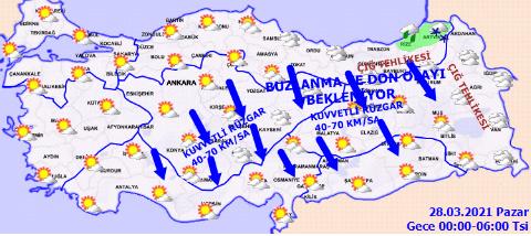 Meteoroloji Genel Müdürlüğü'nden kar ve fırtına uyarısı! - Sayfa 4