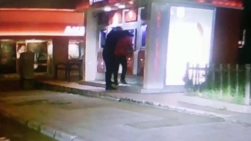 Adana'da ATM'de gaspçı dehşeti