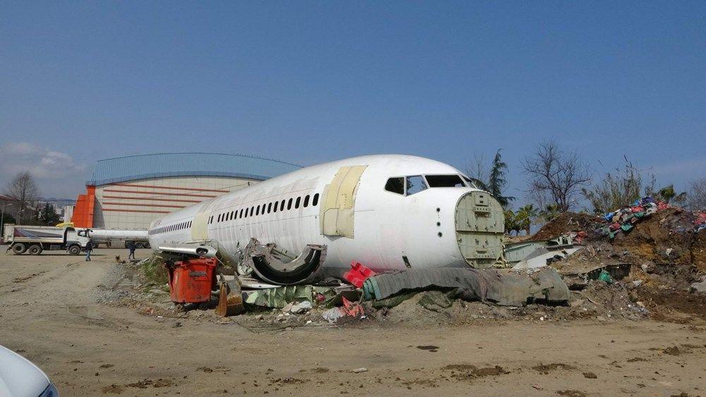 Trabzon'da kaderine terk edilen yolcu uçağı pide salonu olacak - Sayfa 4
