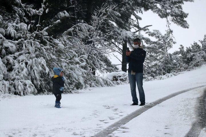 İzmir'e 1 Nisan şakası! Nisan ayında kar yağdı - Sayfa 3