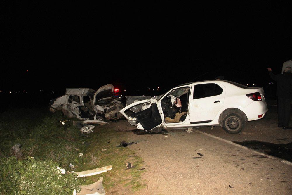 Şanlıurfa'da iki otomobilin çarpışması sonucu katliam gibi kaza: 5 ölü, 1 yaralı!  video - Sayfa 1