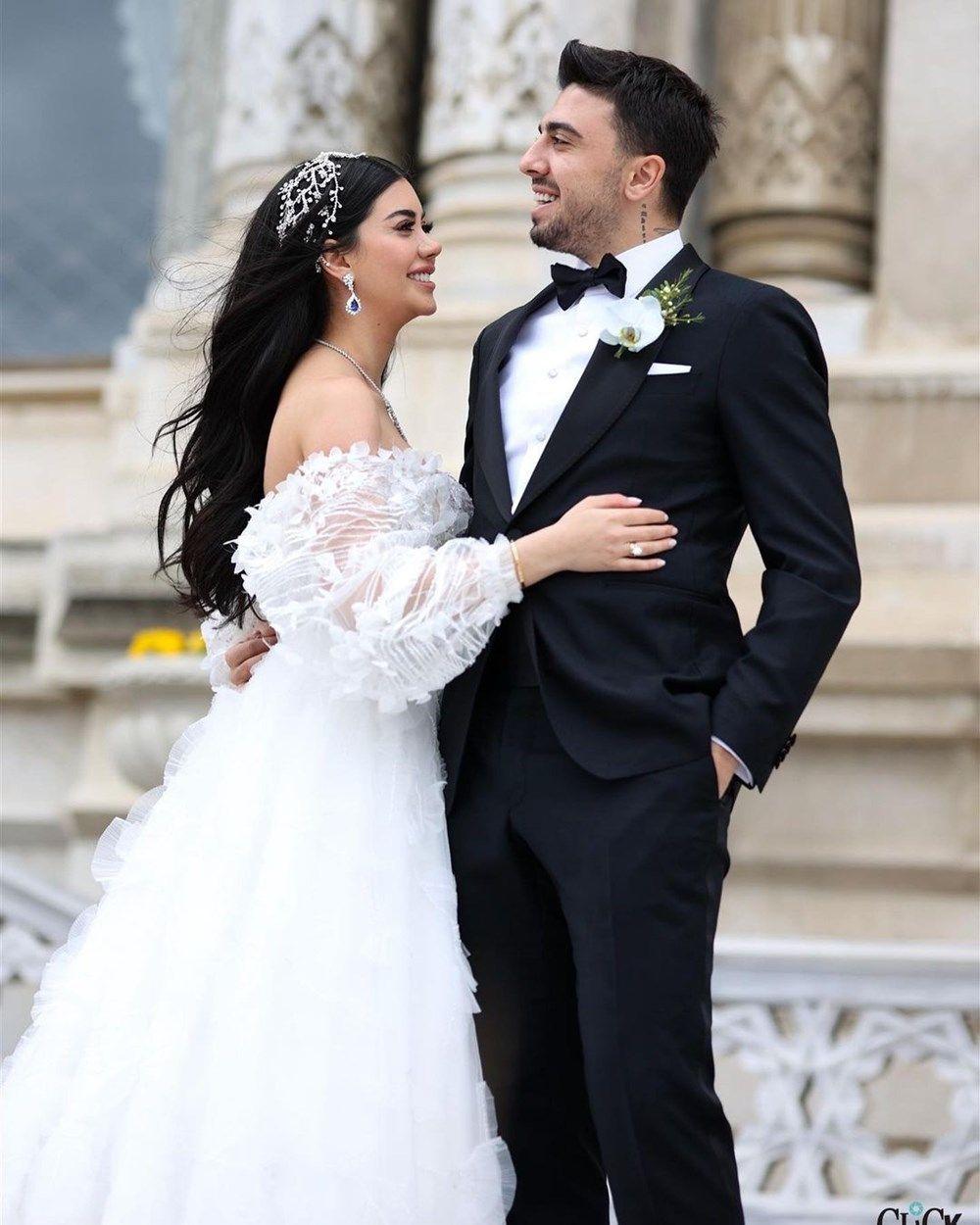Ozan Tufan ile Rojin Haspolat Tufan'ın düğününden fotoğraflar - Sayfa 4